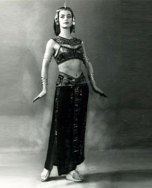 Performing national dance
