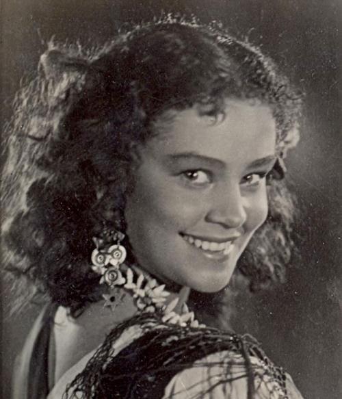 Russian actress Olga Zabotkina