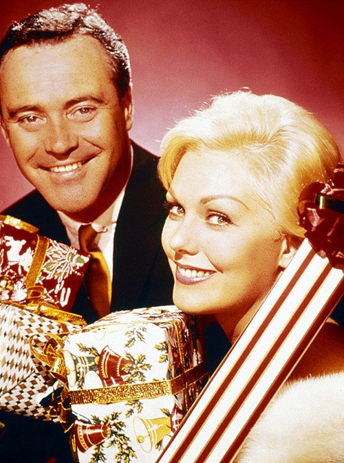 Jack Lemmon and Kim Novak