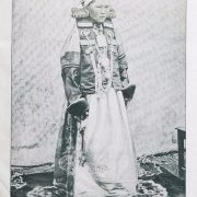 From the album of 'Russian beauties'. Buryat beauty. Early XX century