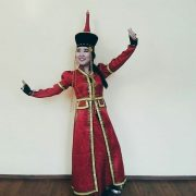 Saryune in national costume