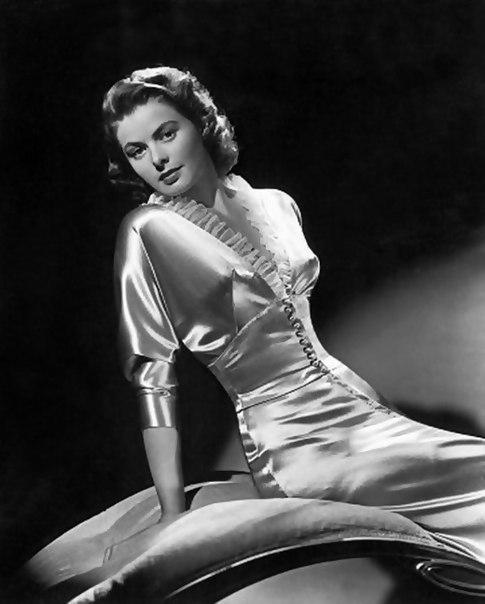 Actress Ingrid Bergman