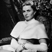 Such is life - ups and downs. You can not be happy all the time. Ingrid Bergman