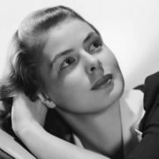 Swedish American actress Ingrid Bergman