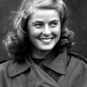 Young actress Ingrid Bergman