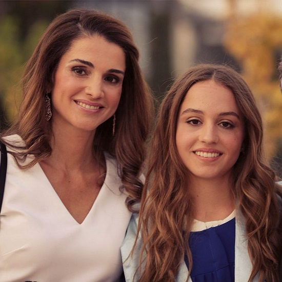 Gorgeous women mother and daughter