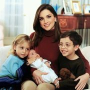 The Royal family - Queen Rania with Princess Iman and Prince Hashim