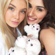 Russian beauty Polina Popova and Miss World 2017 Manushi Chhillar
