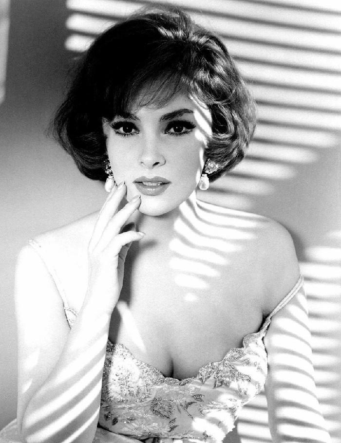 Film actress Gina Lollobrigida