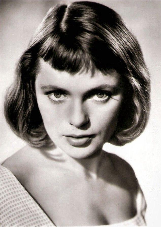 Film actress Ulla Jacobsson