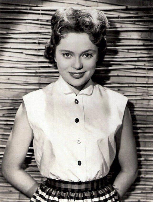 Movie actress Ulla Jacobsson Rohsmann