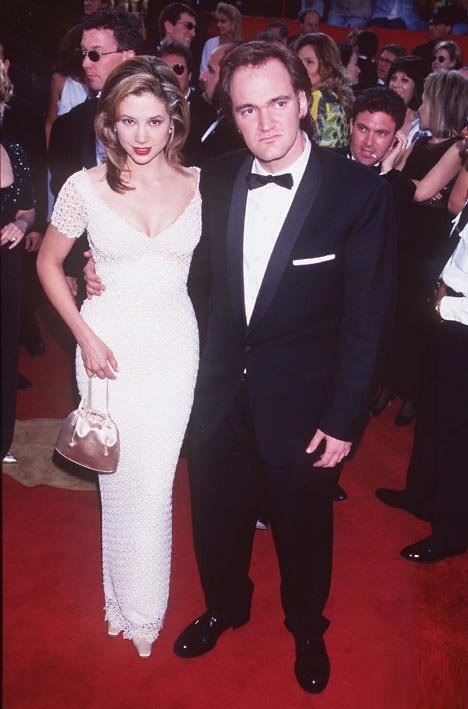 Red carpet - Mira Sorvino, Quentin Tarantino