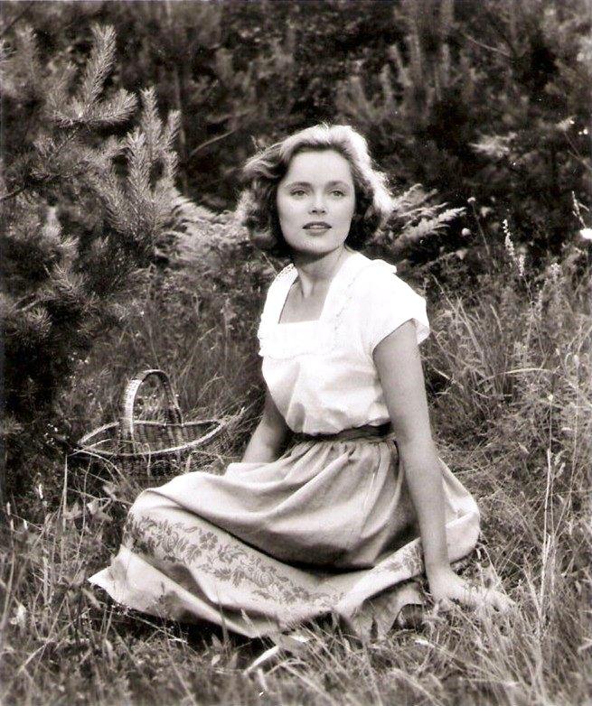 Sex symbol of 1960s actress Ulla Jacobsson Rohsmann