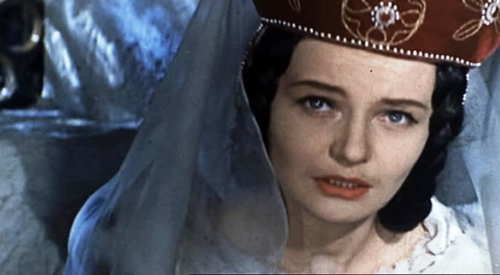 Shot from the film 'The Crusaders' (1960)