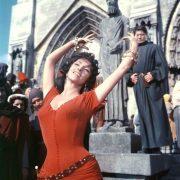 as Esmeralda in The Hunchback of Notre Dame 1956