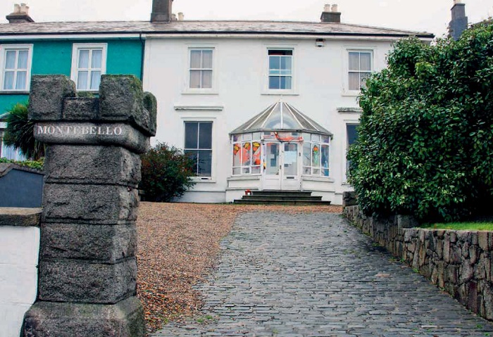 After a divorce from her third husband, Australian guitarist Steve Cooney, Sinedd bought a house in Bray