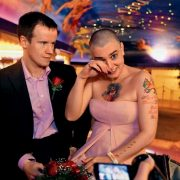After the wedding, Barry Herridge and Sinead sat in a pink Cadillac and went to the hotel