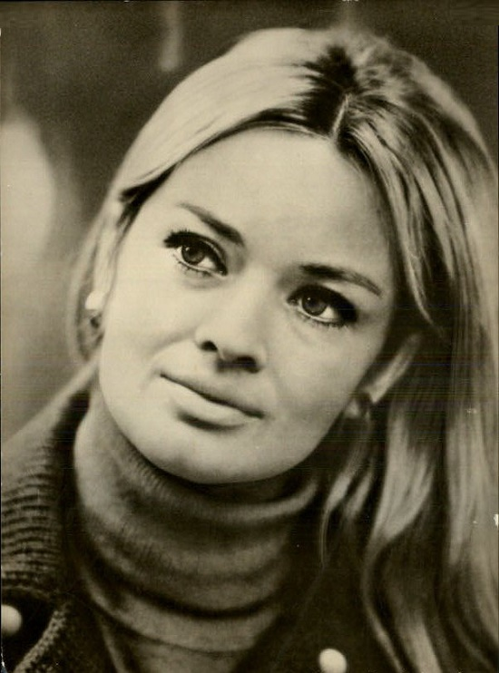Beautiful Czech film actress Jana Brejchova