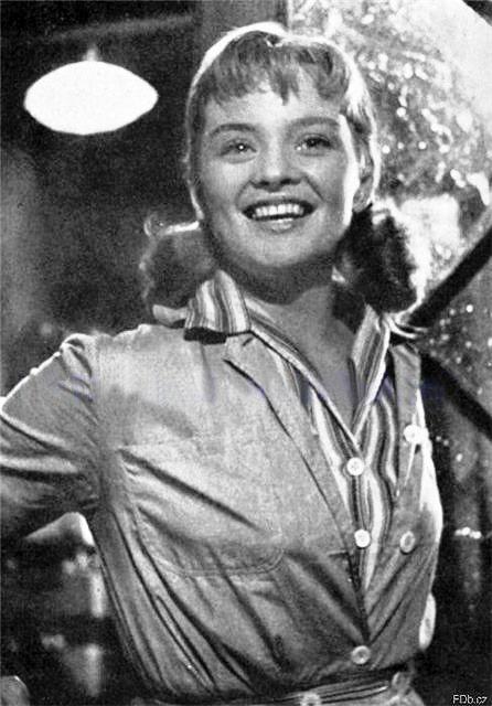 Beginning actress Jana Brejchova
