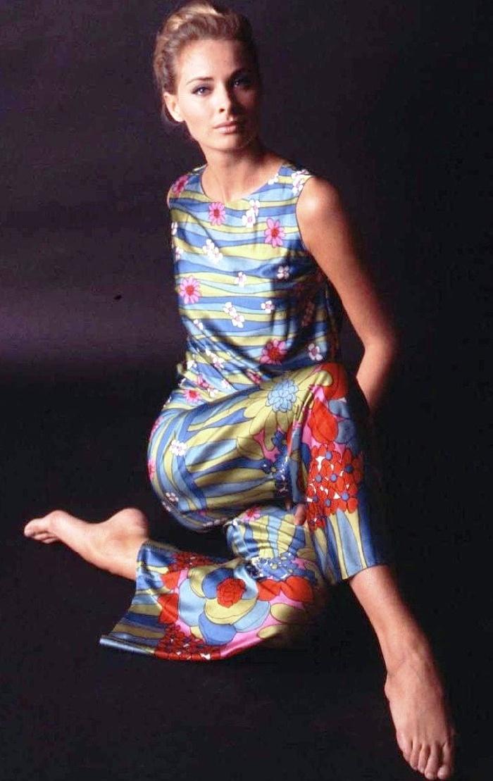 Beauty icon Camilla Sparv, 1960s