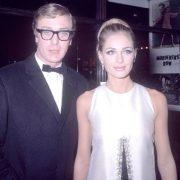 Michael Caine and Camilla Sparv