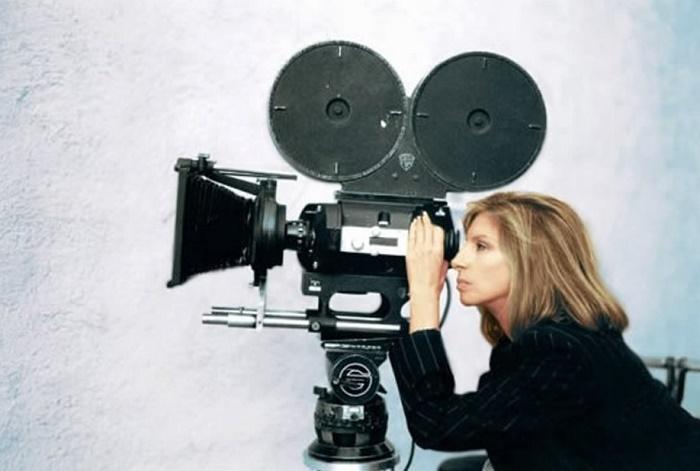 Director Barbra Streisand