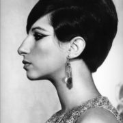Profile photos are her favorite. Barbra Streisand