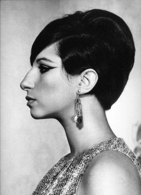 Profile photos are her favorite. Barbra Streisand