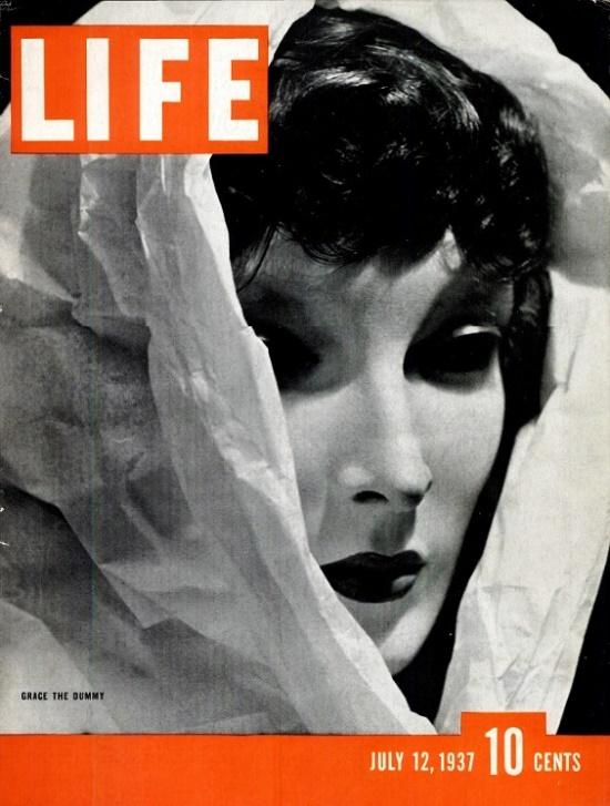 Life Magazine cover, 1937 Grace the Dummy