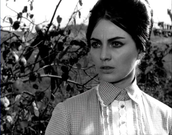 'The Peach-Garden Trespasser'. 1964. The First lady of Bulgarian cinema Nevena Kokanova (12 December 1938 – 03 June 2000)