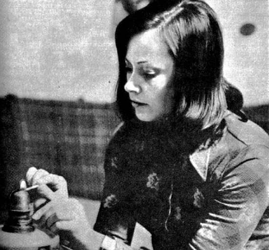 'The guilt', prosecutor Snezha Harieva. 1976