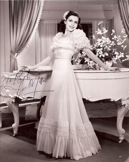 1940-1950 icon of style Ann Miller