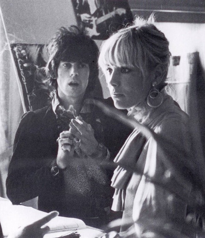 1960s Keith Richards and Anita