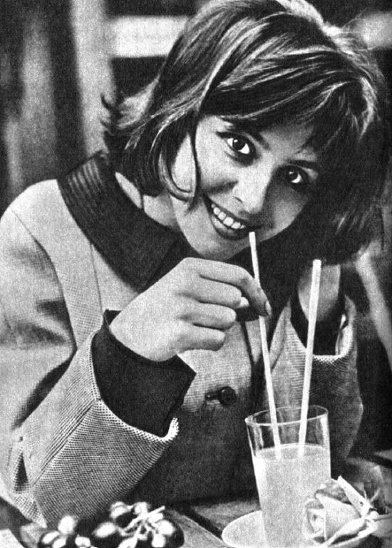 1960s most beautiful Slovak actress Emilia Vasharyova