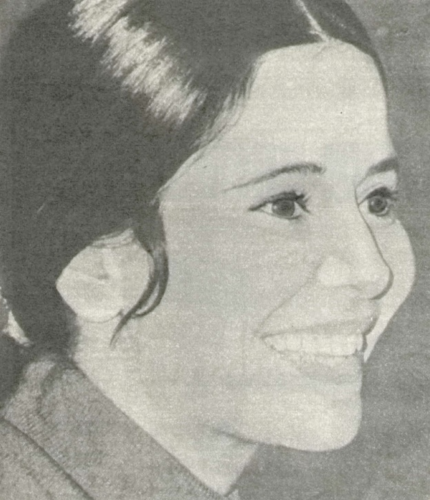 1974 Soviet Screen Magazine photo of Marie-Jose Nat