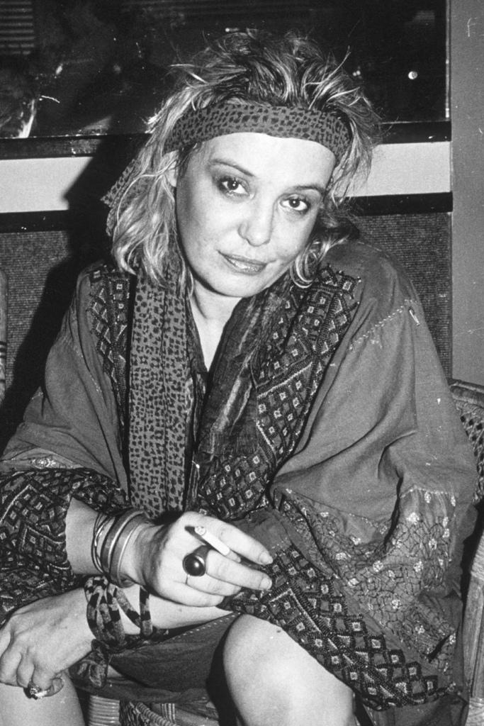 1982 photo, Anita Pallenberg