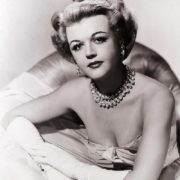 Beautiful English actress Angela Lansbury