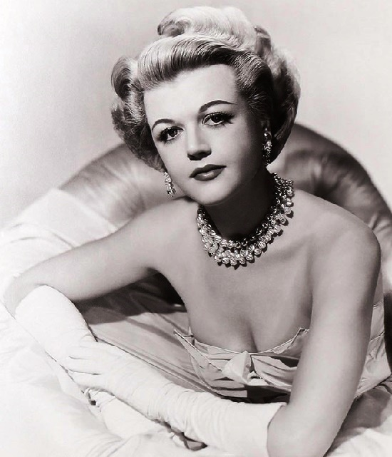 27 year-old film star, Beautiful English actress Angela Lansbury