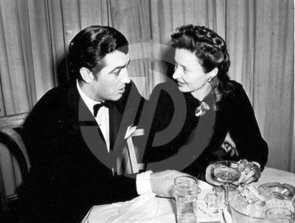 A husband and wife Barbara Stanwyck and Robert Taylor, 1941