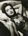 Miss New Orleans, Hollywood beauty Dorothy Lamour
