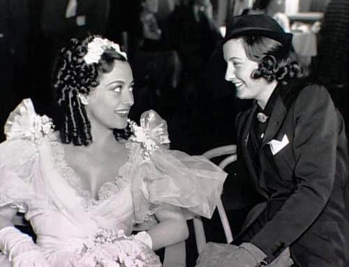 According to the rumors, Joan Crawford and Barbara Stanwick were lovers