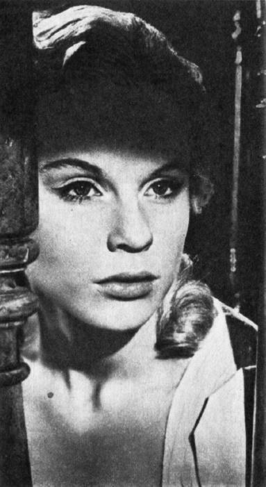 Actress Bibi Andersson