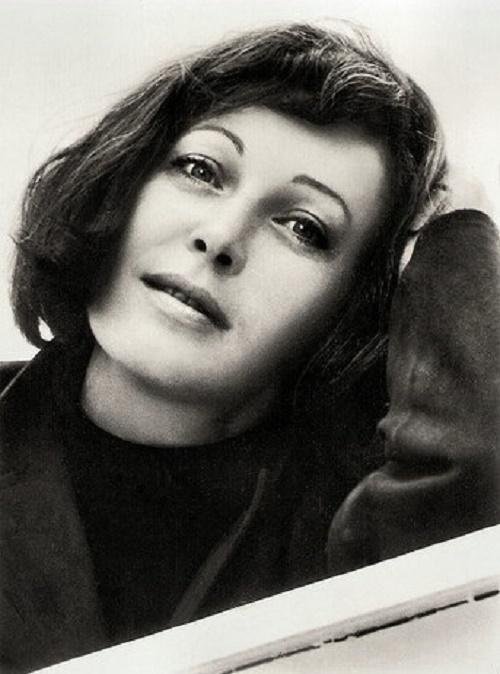 Actress Kveta Fialova