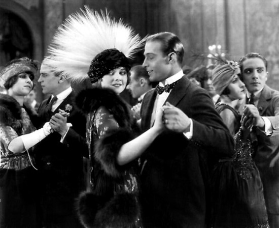 Alice Terry and Rudolph Valentino