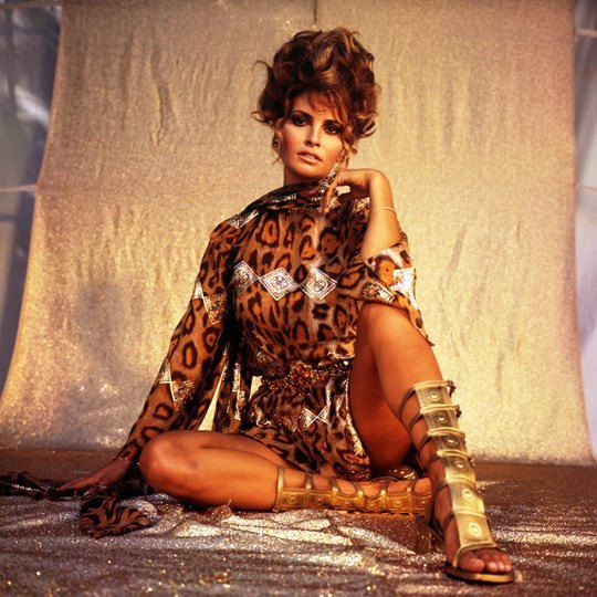 American actress Raquel Welch