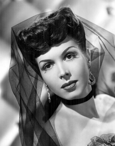 American actress, singer and dancer Ann Miller