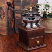 Antique Hand Coffee Bean Grinder