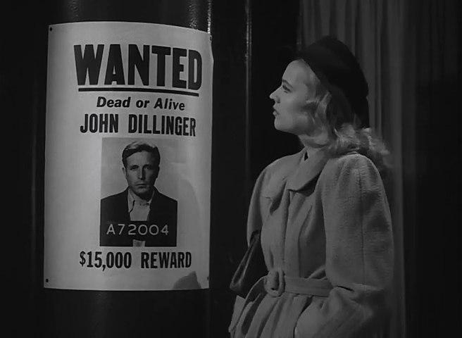 As Helen Rogers in Dillingers. 1945