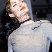 Backstage at John Galliano Spring. 1995. Amber Valletta
