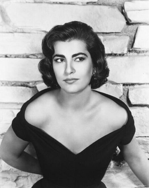 Beautiful Greek actress Irene Papas